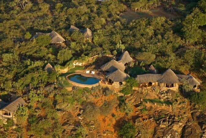 Kenya Laikipia Ol Malo Lodge family safari