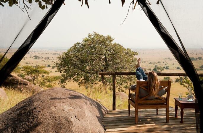 Tanzania Lamai Serengeti family safari