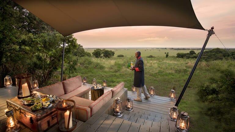 Kenya Masai Mara Bateleur Camp family safari