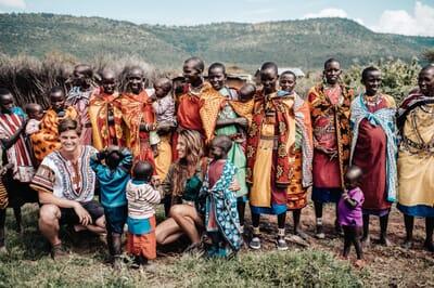 Kenya Masai Mara Cottar's 1920s family safari archery