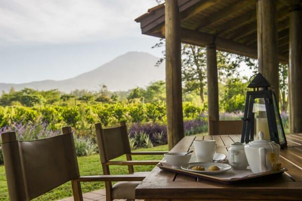 Tanzania Arusha legendary lodge mount Meru