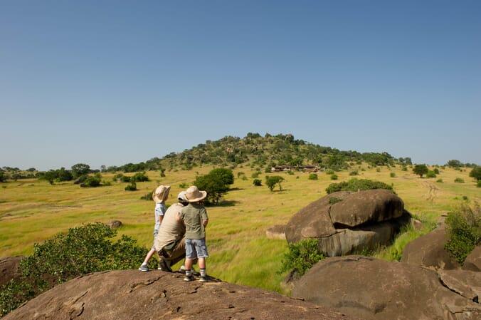 Tanzania Serengeti Mkombe's House family safari