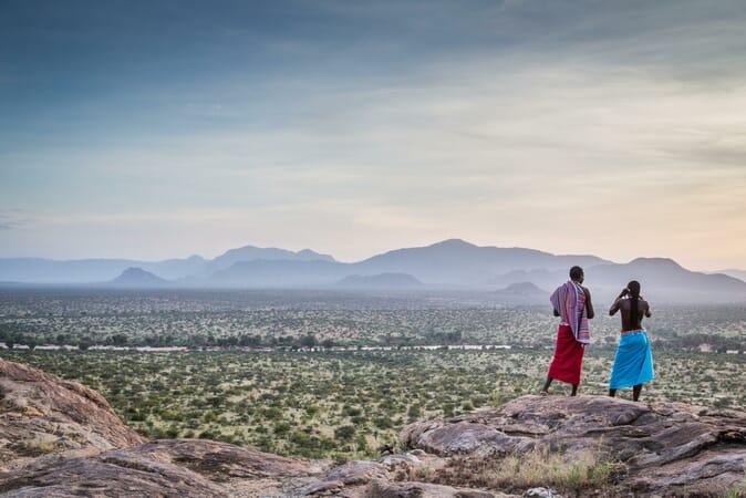 Kenya Samburu Sasaab family safari