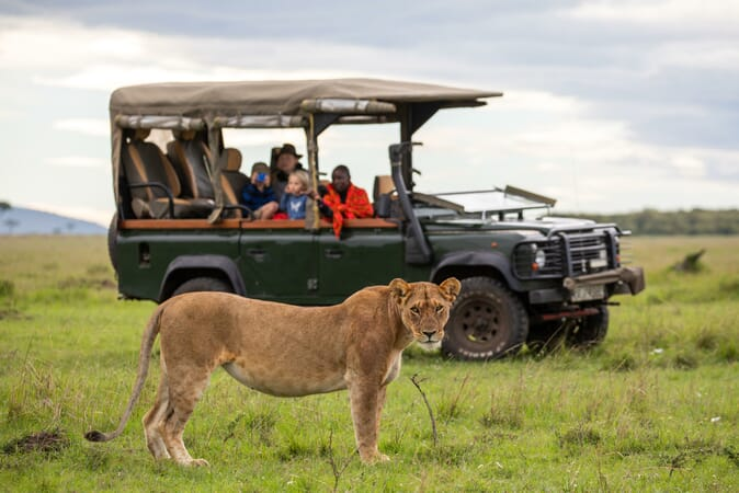 Kenya House in the Wild Masai Mara family safari