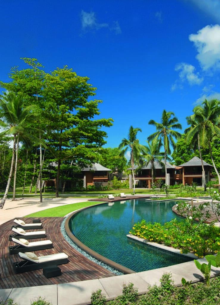 Resort portrait view