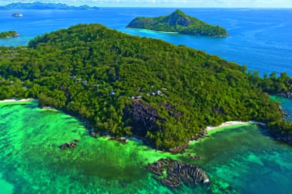 Mahé luxury family holidays - Constance Ephelia aerial view