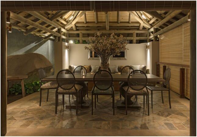 Sea Monkey Villa dining room