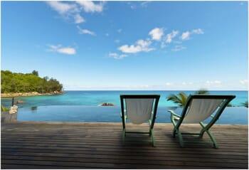 Sea Monkey Villa pool view
