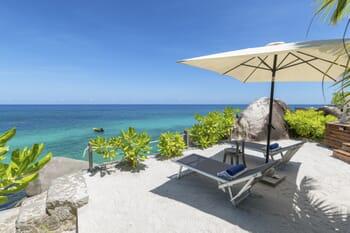 Sea Monkey beach terrace Mahe