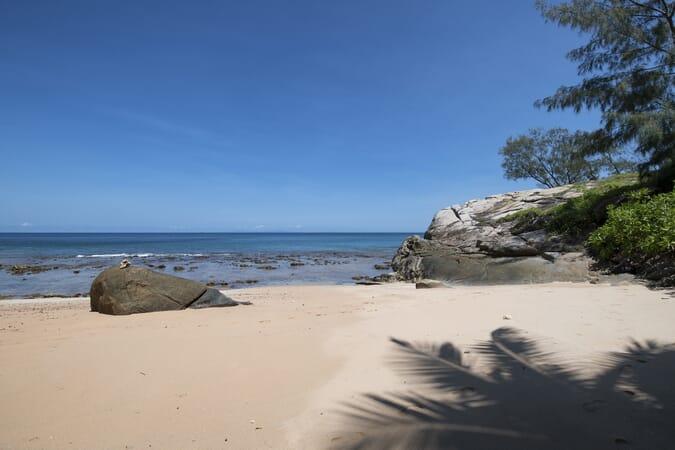 Sea Monkey beach Mahe