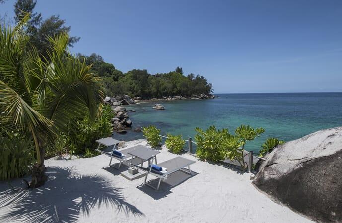 Sea Monkey Villa beach view