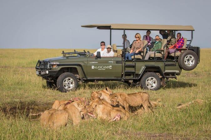 Kenya Masai Mara Sala's Camp family safari