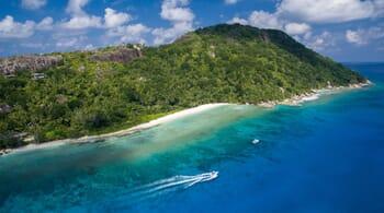 Seychelles Felicite aerial