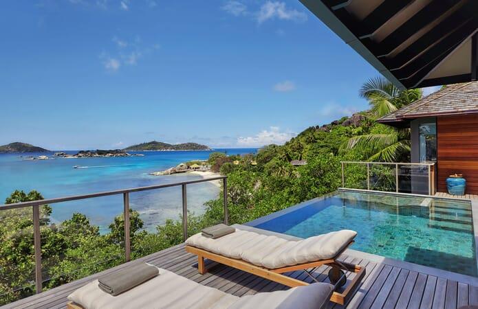 Six Senses Zil Pasyon - ocean front pool villa