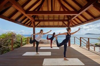 Six Senses Zil Pasyon - yoga deck
