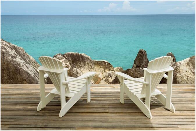 Sea Monkey Villa terrace view