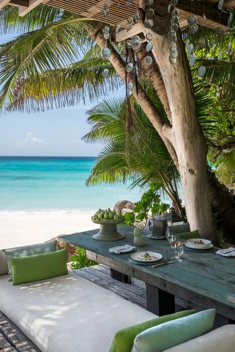 Seychelles Private Islands - North Island beach view