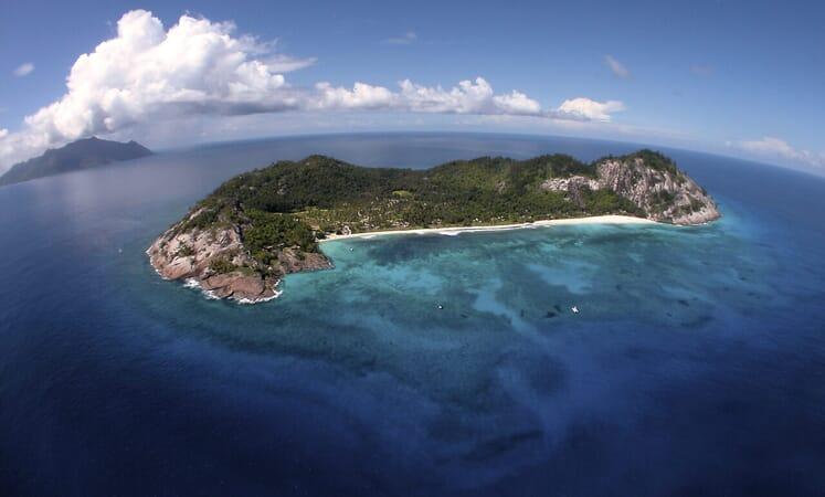 North Island aerial seychelles