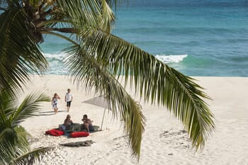 North Island Seychelles beach