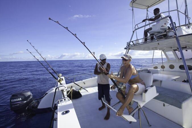 North Island Seychelles fishing