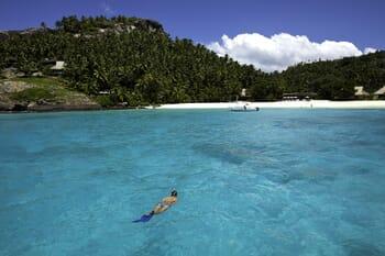 North Island Seychelles snorkel