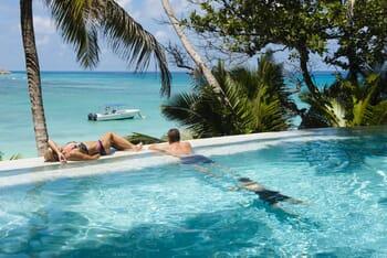 North Island Seychelles pool