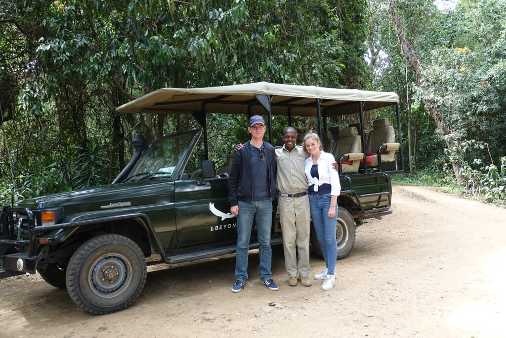 Client photo Lisa Simms Kenya family safari