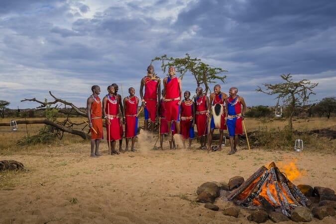 Kenya Masai Mara Mahali Mzuri family safari
