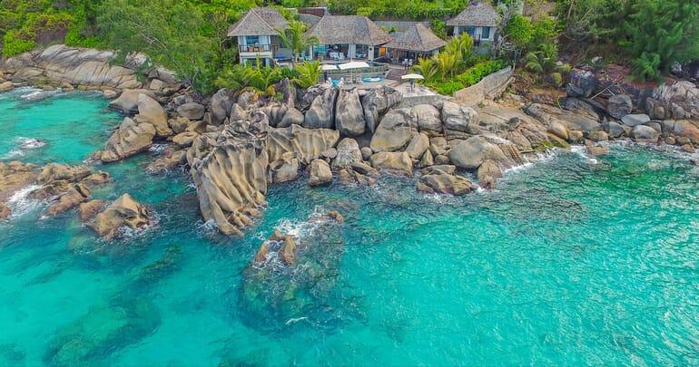 Sea Monkey Villa aerial