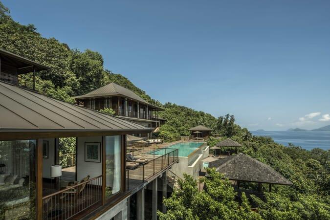 Four Seasons Resort Seychelles four-bedroom residence