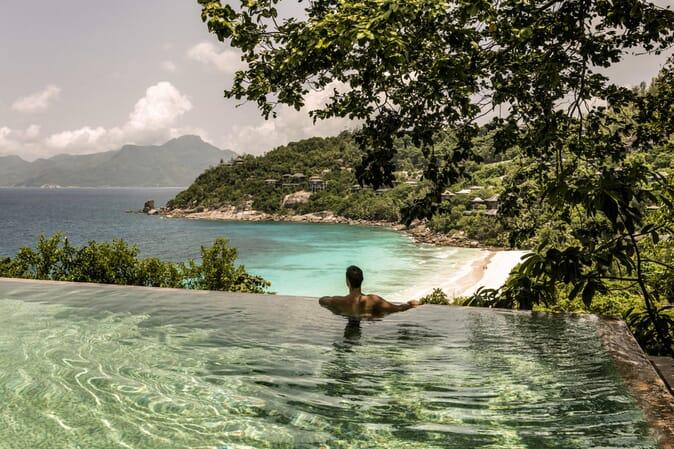 Four Seasons Resort Seychelles ocean view suite
