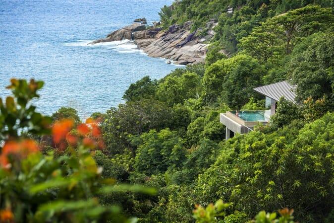 Four Seasons Resort Seychelles villa