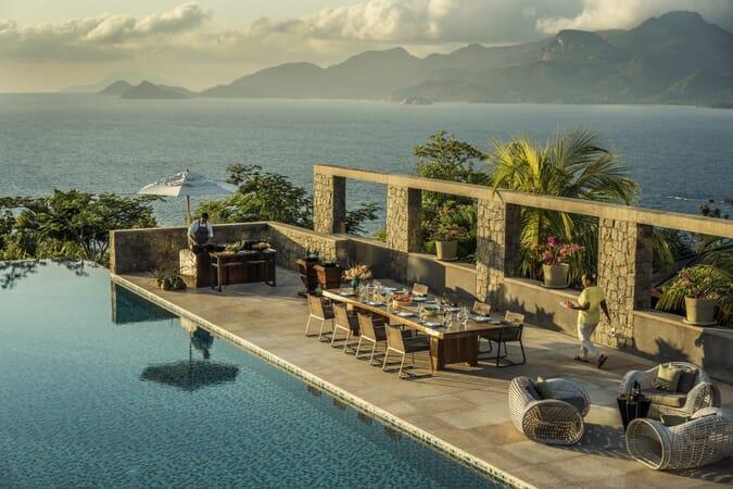 Four Seasons Resort Seychelles residence villa pool