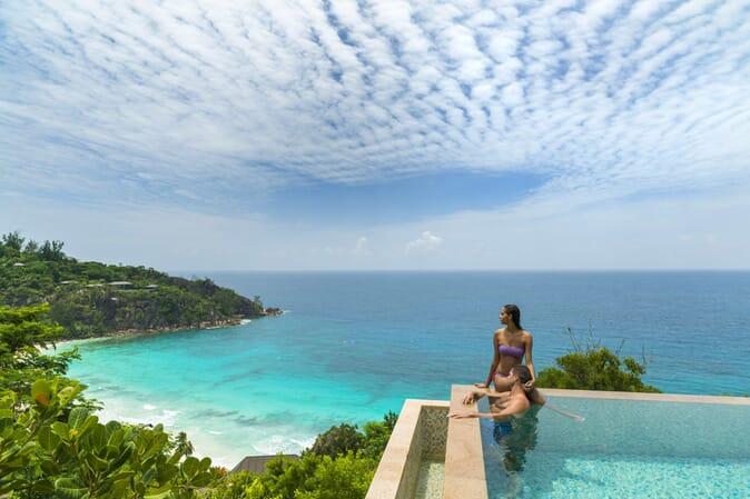 Four Seasons Resort Seychelles serenity villa pool