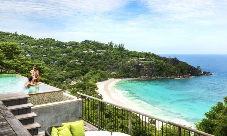 Four Seasons Resort Seychelles family holidays villa view