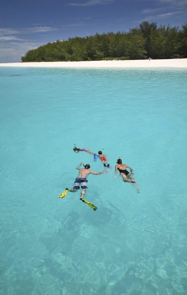 Mnemba Island Zanzibar snorkel