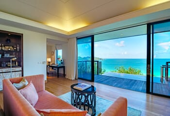Raffles Seychelles bedroom
