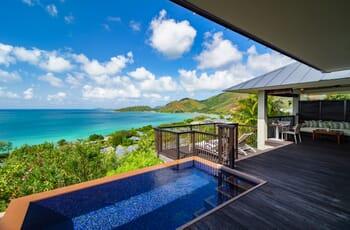 Raffles Seychelles panoramic deck