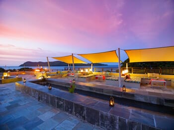 Raffles Seychelles terrace
