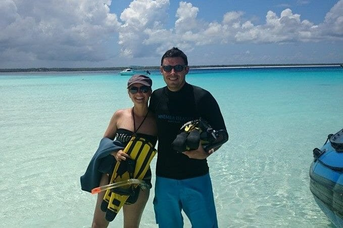 Mike and Tess snorkel experience