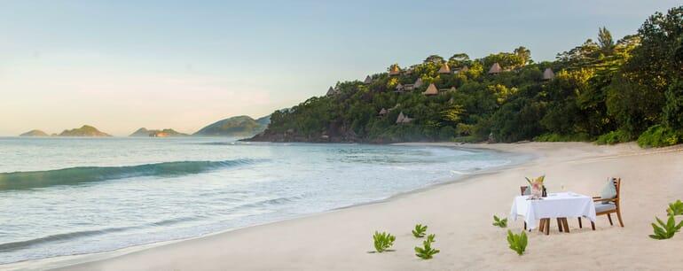Anantara Maia Seychelles beach
