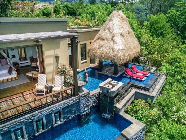 Anantara Maia Seychelles villa exterior