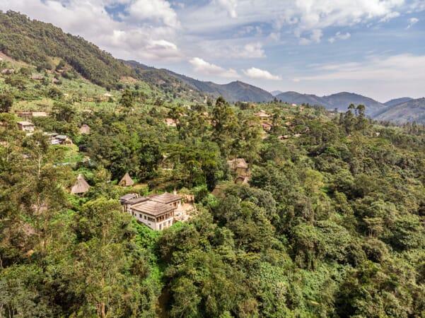 Volcanoes Bwindi Lodge Uganda safari