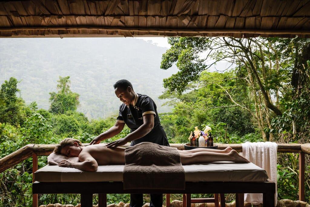 Sanctuary Gorilla Forest Camp luxury