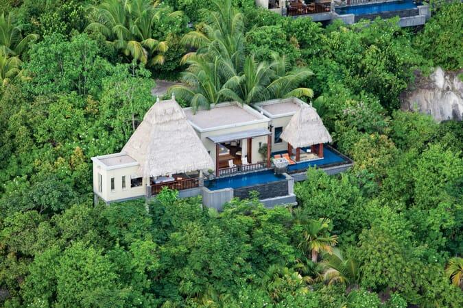 Anantara Maia Seychelles villas exterior