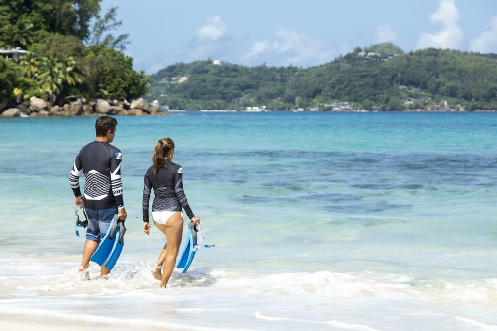 Anantara Maia Seychelles snorkelling