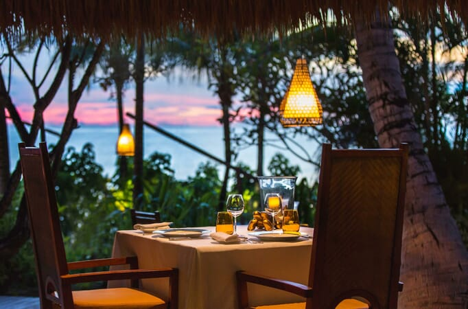Anantara Maia Seychelles dining