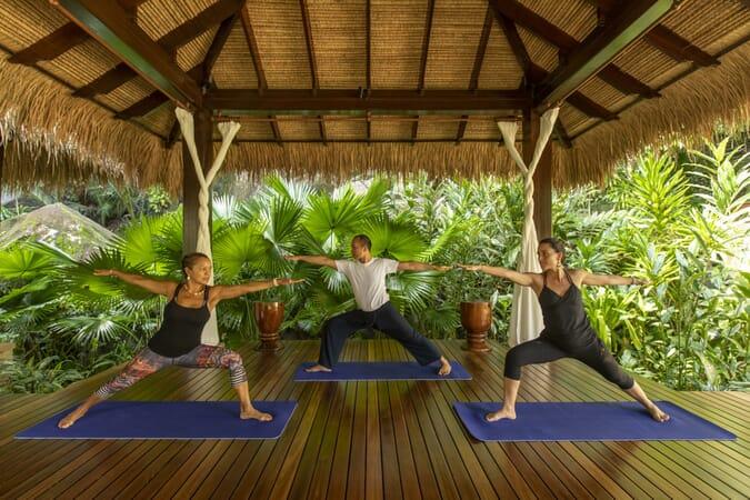 Anantara Maia Seychelles yoga