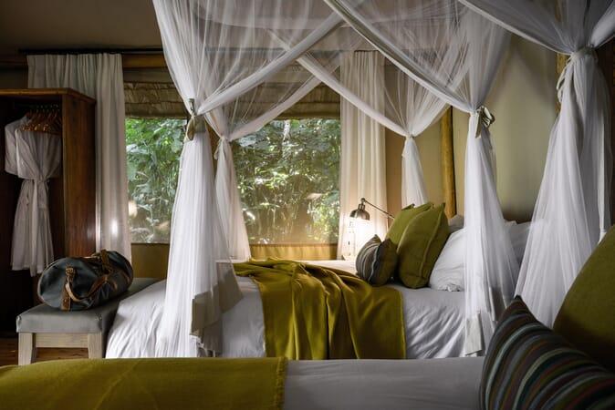 Sanctuary Gorilla Forest Camp bedroom