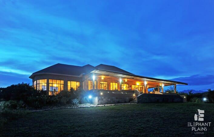 Elephant Plains Lodge night